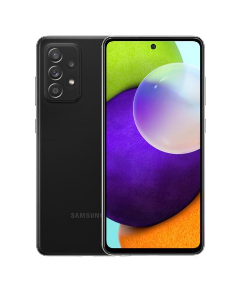Refurbished Samsung Galaxy A52 4G 128GB schwarz