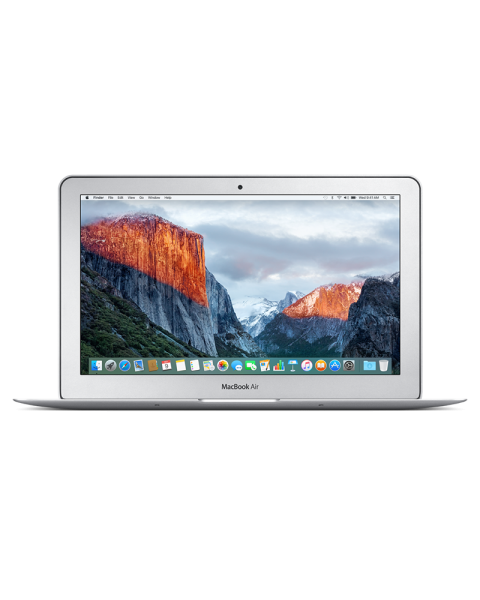 MacBook Air 11-inch Core i5 1.6 GHz 128 GB SSD 4 GB RAM Zilver (Early 2015)