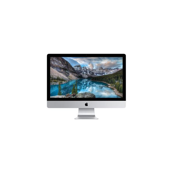 iMac 27-inch Core i7 4.0 GHz 2 TB HDD 16 GB RAM Silber (5K, Late 2015)