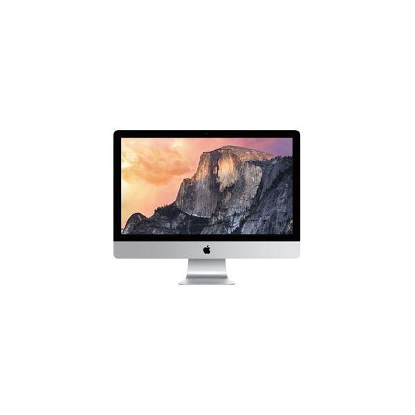 iMac 27-inch Core i5 3.5 GHz 1 TB HDD 8 GB RAM Silber (5K, Late 2014)