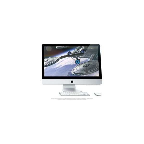 iMac 27-inch Core 2 Duo 3.33 GHz 1 TB HDD 4 GB RAM Silber (Ende 2009)
