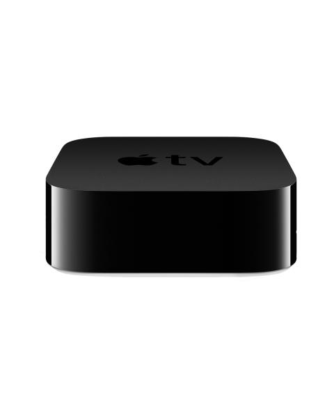 Apple TV | 4K HDR | 32GB Flash Storage | Medienstreamer | Schwarz