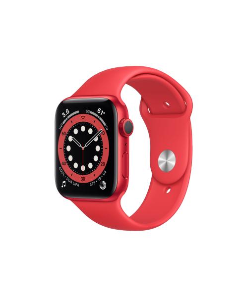 Refurbished Apple Watch Series 6 40mm | Aluminiumgehäuse Rot | rote Sportband