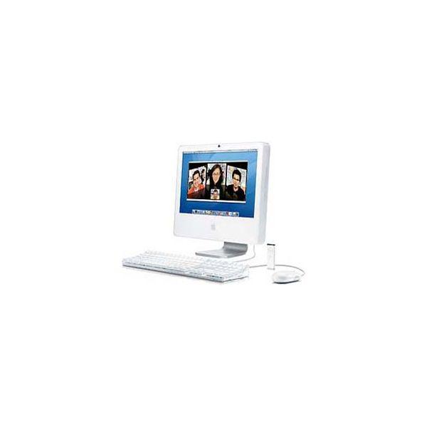 iMac 20-inch Core 2 Duo 2.33 GHz 250 GB HDD 1 GB RAM Silber (Ende 2006)