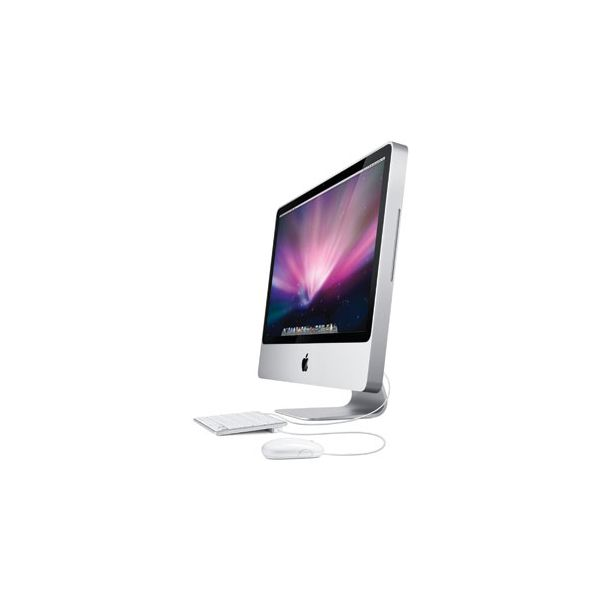 iMac 24-inch Core 2 Duo 2.66 GHz 640 GB HDD 4 GB RAM Silber (Anfang 2009)