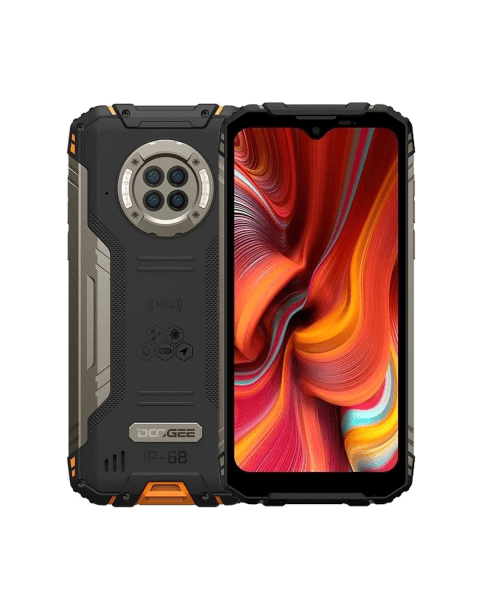 DOOGEE S96 Pro | 128GB | Schwarz/Orange