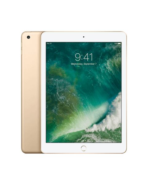 Refurbished iPad 2017 128GB WiFi goud