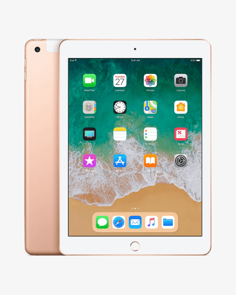 Refurbished iPad 2018 32GB WiFi + 4G Gold