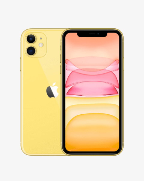 Refurbished iPhone 11 64GB Gelb