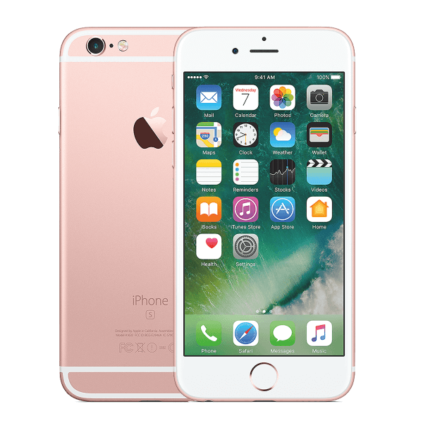 Refurbished iPhone 6S Plus 64GB Schwarz/Space Grau