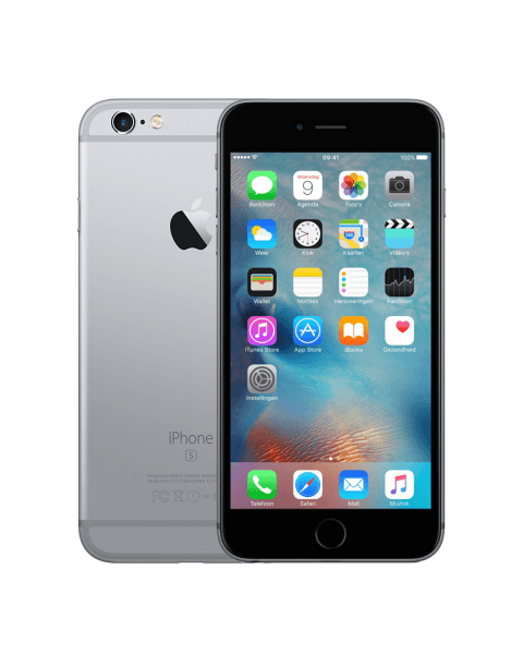Refurbished iPhone 6S Plus 32GB Schwarz/Space Grau