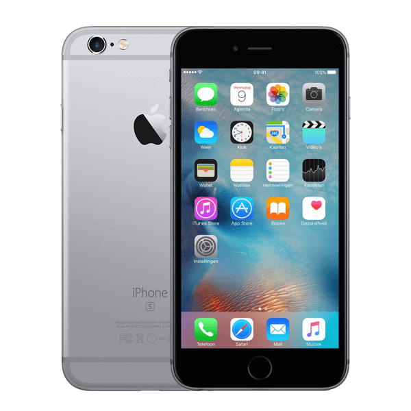 Refurbished iPhone 6S Plus 16GB Schwarz/Space Grau