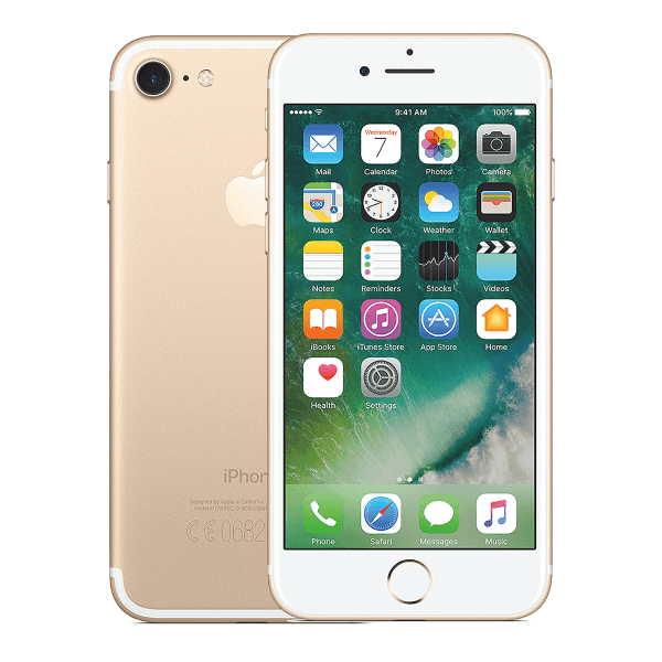 Refurbished iPhone 7 32GB Mattschwarz