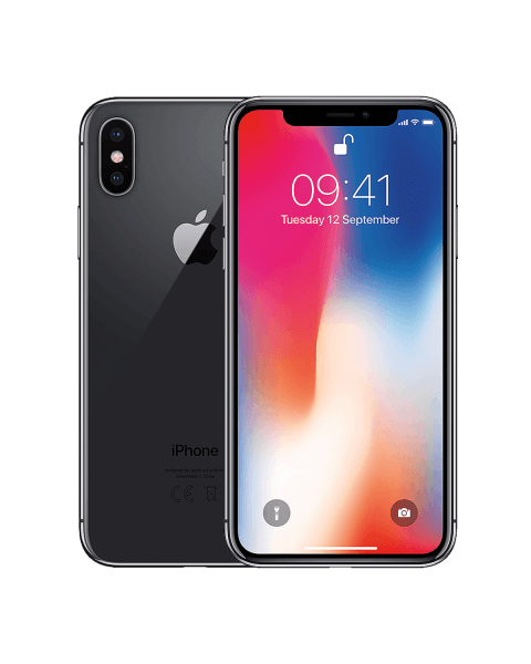 Refurbished iPhone X 256 GB Space Grau