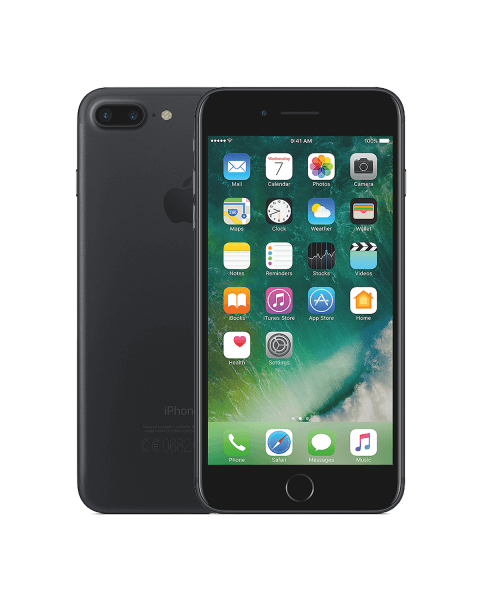 Refurbished iPhone 7 Plus 128GB Mattschwarz