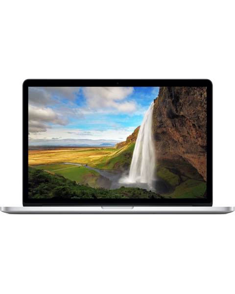 MacBook Pro 15-Zoll | Core i7 2,2 GHz | 256-GB-SSD | 16GB RAM | Silber (Mitte 2015) | Retina