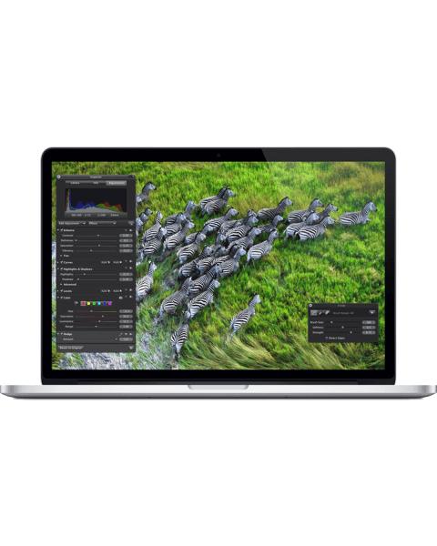 MacBook Pro 15-inch | Core i7 2.3 GHz | 500GB SSD | 16GB RAM | silber (Late 2013)