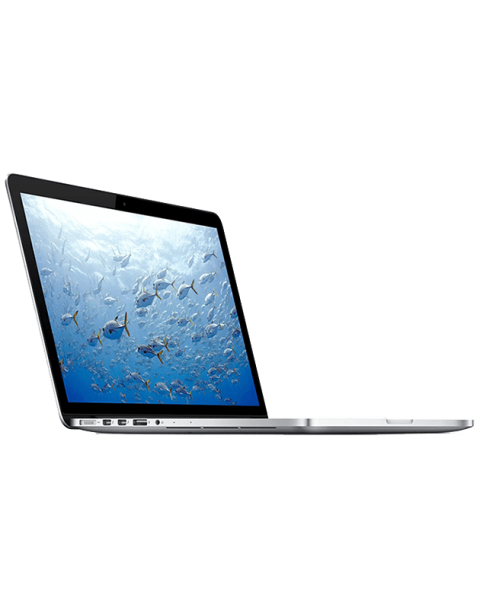MacBook Pro 15-inch Core i7 2.3 GHz 256 GB SSD 16 GB RAM Silber (Anfang 2013)