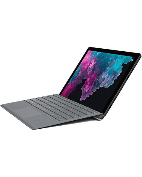 Refurbished Microsoft Surface Pro 5 | 12.3 inch | 7e generatie i5 | 128GB SSD | 4GB RAM | Grau QWERTY keyboard | Ohne Pen