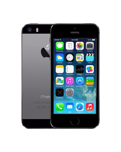 Refurbished iPhone 5S 16GB Schwarz/Space Grau