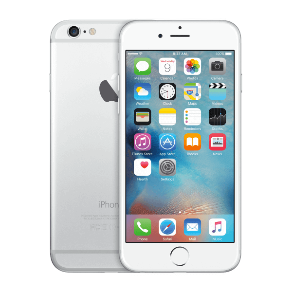 Refurbished iPhone 6 128GB Silber