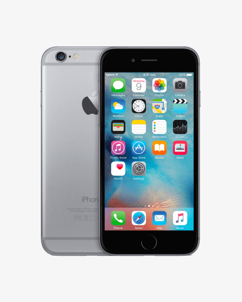 Generalüberholtes iPhone 6 32 GB schwarz / grau