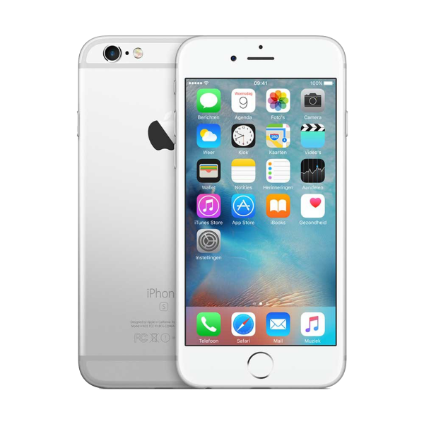 Refurbished iPhone 6S 128GB Silber