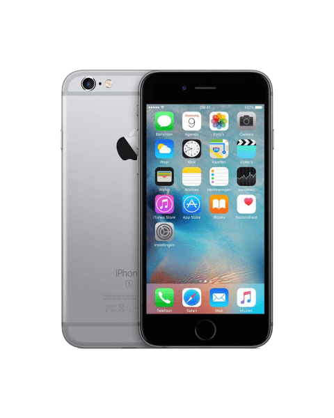 Refurbished iPhone 6S 16GB Schwarz/Space Grau