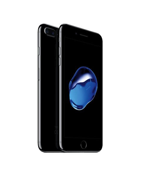 Refurbished iPhone 7 Plus 128GB Pechschwarz