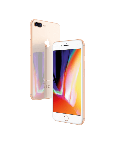 Refurbished iPhone 8 plus 256 GB Gold