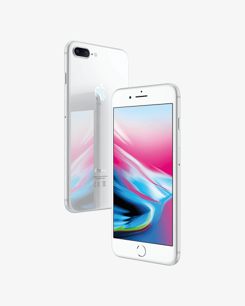 Refurbished iPhone 8 plus 256 GB Silber