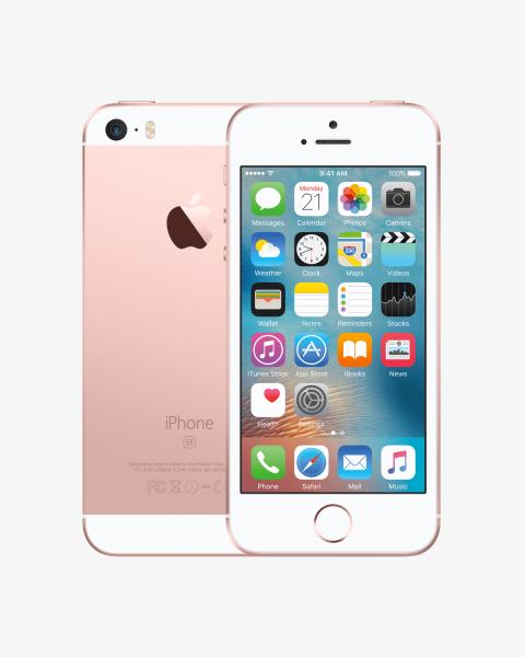 Refurbished iPhone SE 64GB Roségold