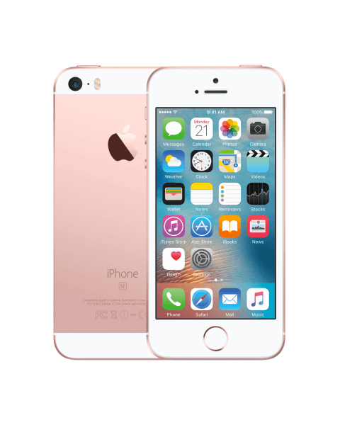 Refurbished iPhone SE 16GB Roségold