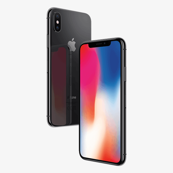 Refurbished iPhone X 64GB Space Grau
