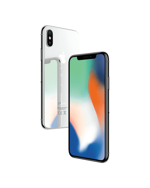 Refurbished iPhone X 64GB Silber