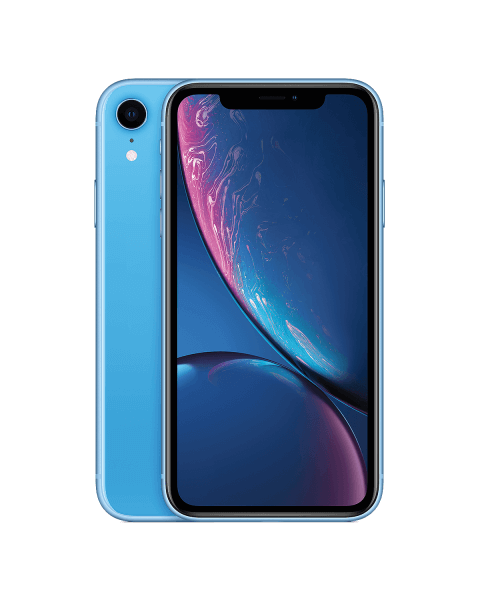 Refurbished iPhone XR 128 GB Blau