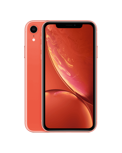 Refurbished iPhone XR 128GB roze