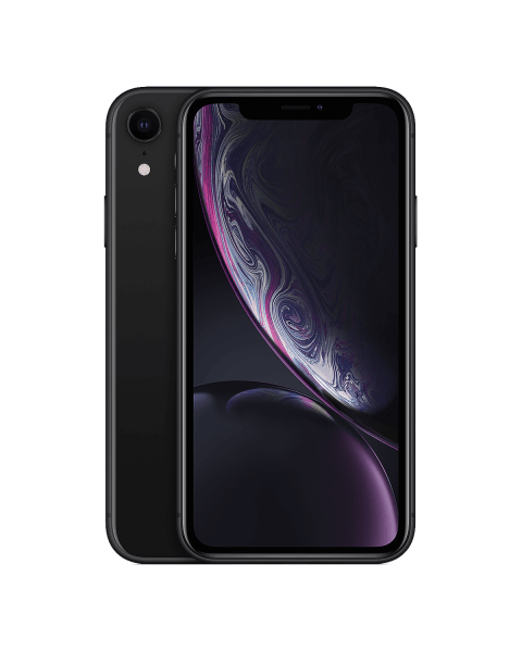 Refurbished iPhone XR 64 GB Schwarz