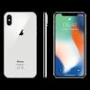 Refurbished iPhone X 256 GB Silber