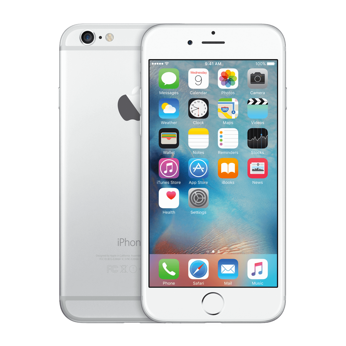 Refurbished Iphone 6 Silber