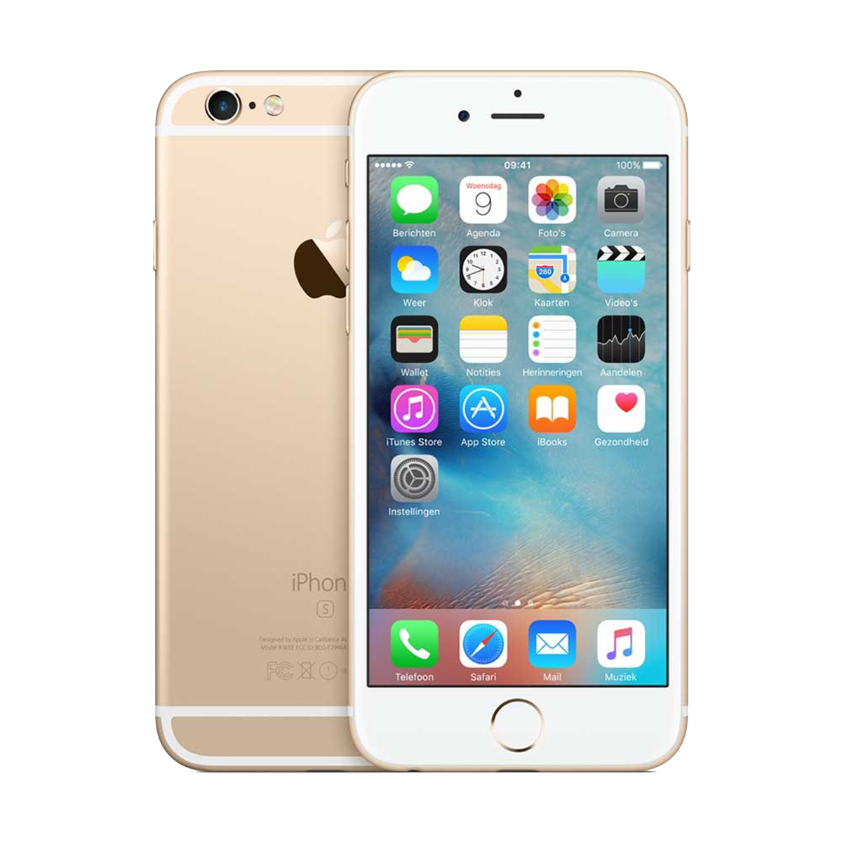 Refurbished iPhone 6s Gold