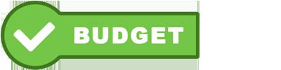Überholtes Label Budget
